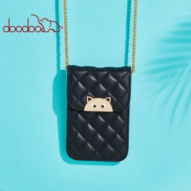 Doodoo Tas Selempang Mini Sling Bag - Black - 6