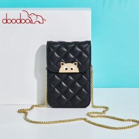 Doodoo Tas Selempang Mini Sling Bag - Black - 7