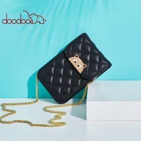 Doodoo Tas Selempang Mini Sling Bag - Black - 8