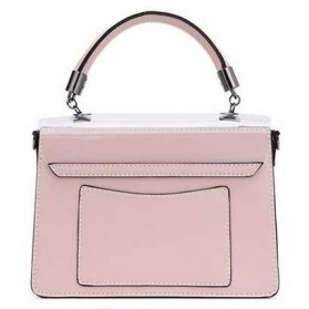 Anmly Tas Selempang Transparant Wanita - Model 1 - Pink - 2