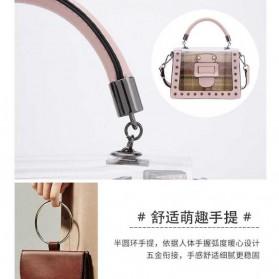 Anmly Tas Selempang Transparant Wanita - Model 1 - Pink - 10