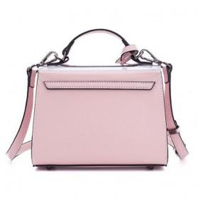 Anmly Tas Selempang Transparant Wanita - Model 2 - Pink - 3