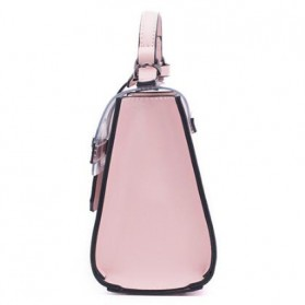 Anmly Tas Selempang Transparant Wanita - Model 2 - Pink - 4