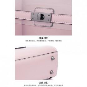 Anmly Tas Selempang Transparant Wanita - Model 2 - Pink - 5