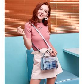 Anmly Tas Selempang Transparant Wanita - Model 2 - Pink - 10