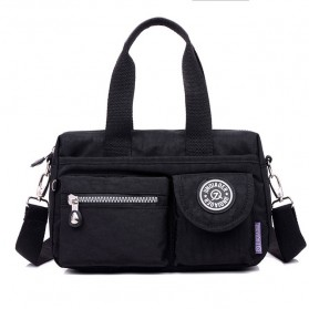 JINQIAOER Tas Selempang Wanita Messenger Bag - 9819-1 - Black