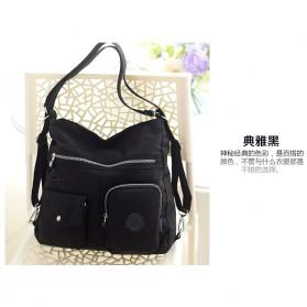 JINQIAOER Tas Selempang Wanita Messenger Bag - 9823 - Black
