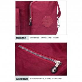 JINQIAOER Tas Selempang Wanita Messenger Bag - 9823 - Black - 4