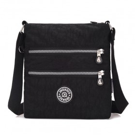 JINQIAOER Tas Selempang Wanita Messenger Bag - 1061 - Black - 1