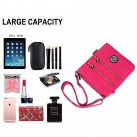 JINQIAOER Tas Selempang Wanita Messenger Bag - 1061 - Black - 3