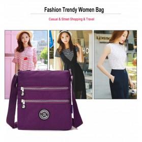 JINQIAOER Tas Selempang Wanita Messenger Bag - 1061 - Black - 5