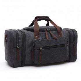 ZUOLUNDUO Tas Fashion Duffel Travel - ZLD-8642 - Black - 1
