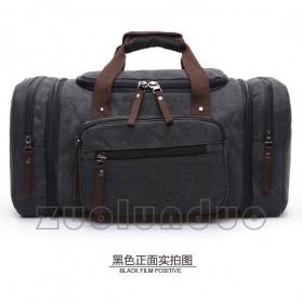 ZUOLUNDUO Tas Fashion Duffel Travel - ZLD-8642 - Black - 3