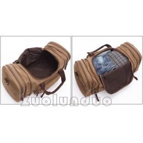ZUOLUNDUO Tas Fashion Duffel Travel - ZLD-8642 - Black - 4