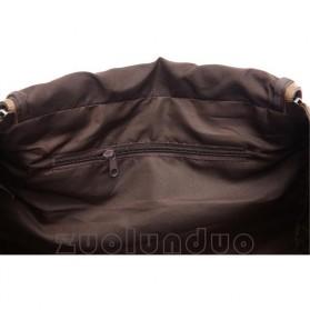 ZUOLUNDUO Tas Fashion Duffel Travel - ZLD-8642 - Black - 5