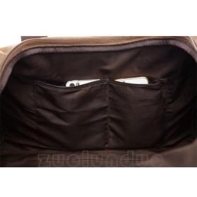 ZUOLUNDUO Tas Fashion Duffel Travel - ZLD-8642 - Black - 6