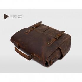 G-FAVOR Tas Selempang Messenger Pria - 5313 - Brown - 6