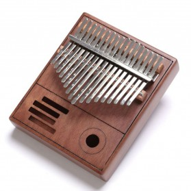 Wishmore Kalimba Mbira Thumb Piano Musical Toys 17 Note Sound - W758 - Wooden - 2