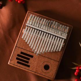 Wishmore Kalimba Mbira Thumb Piano Musical Toys 17 Note Sound - W758 - Wooden - 4