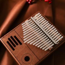 Wishmore Kalimba Mbira Thumb Piano Musical Toys 17 Note Sound - W758 - Wooden - 6