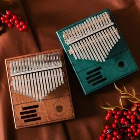 Wishmore Kalimba Mbira Thumb Piano Musical Toys 17 Note Sound - W758 - Wooden - 8