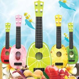 Ukulele Gitar Mainan Gambar Buah-Buahan - AK88 - Multi-Color - 2