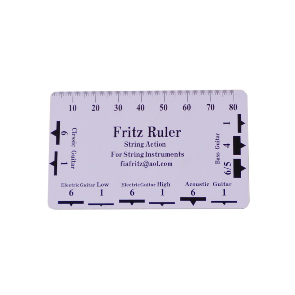 image about String Action Gauge Printable named Fritz Ruler Motion Gauge String Pitch Ruler Senar Gitar