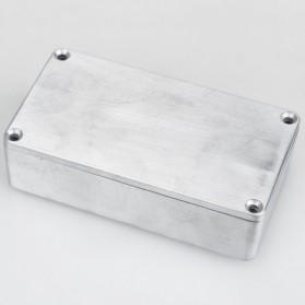 XFDZ Kotak Casing Aluminium Metal Stomp untuk Pedal Efek Gitar - 1590BB - Silver - 3