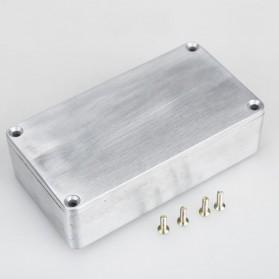 XFDZ Kotak Casing Aluminium Metal Stomp untuk Pedal Efek Gitar - 1590BB - Silver - 6
