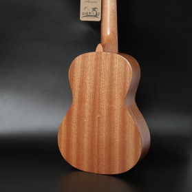 Jasson Ukulele Sopran Mini Gitar Wood Nylon Strings Size 21 - A-08 - Brown - 8