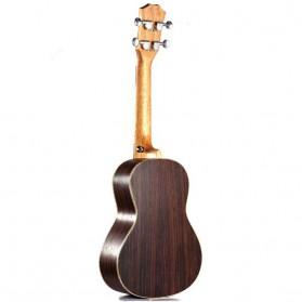 Ukulele Rosewood Acoustic Nylon Strings 23 Inch - Brown