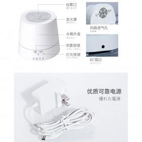 Taffware Modern Air Humidifier Aroma Therapy Diffuser 150ml - HUMI H111 - White - 9