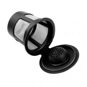 Penyaring Kopi Reusable Coffee Filter Keurig K Cup 3 PCS with Spoon - A0481 - Black - 6