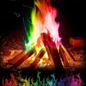 Bubuk Api Warna Warni Sulap Magic Trick Fire Colorful Flame Powder 15g - YY064