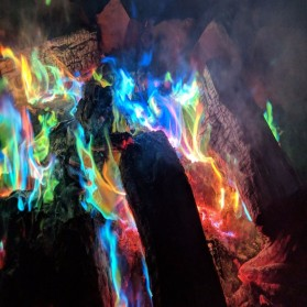 Bubuk Api Warna Warni Sulap Magic Trick Fire Colorful Flame Powder 15g - YY064 - 3