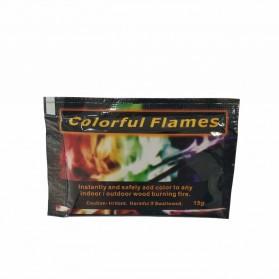 Bubuk Api Warna Warni Sulap Magic Trick Fire Colorful Flame Powder 15g - YY064 - 9