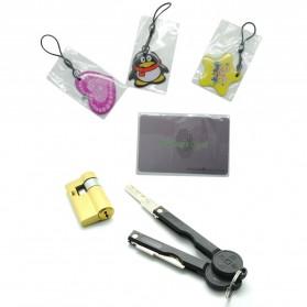 Gagang Pintu Elektrik Intelligent Biometric Fingerprint Door Lock - R-FZ3 - Black - 6
