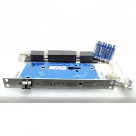 Gagang Pintu Elektrik Intelligent Biometric Fingerprint Door Lock - R-FZ3 - Black - 7