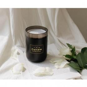 Taffware Air Humidifier Ultrasonic Aromatherapy Oil Diffuser Romantic Candle - HUMI H204 - Black - 9