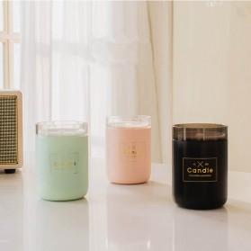 Taffware Air Humidifier Ultrasonic Aromatherapy Oil Diffuser Romantic Candle - HUMI H204 - Black - 11