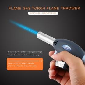 Firetric Portable Gas Torch Butane Flame Gun Non Inverter - 915 - Black