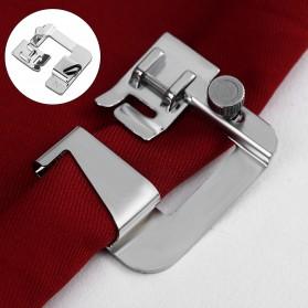 Sepatu Mesin Jahit Rolled Hem Press Foot 8/8 25mm - CY-7306A - Silver - 3