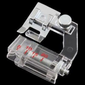 Sepatu Mesin Jahit Adjustable Presser Foot 5-20mm - 4e1006 - Silver