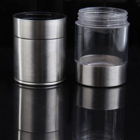 Penggiling Biji Lada Manual Pepper Mill Grinder Stainless Steel - CIQ - Silver - 3