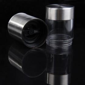 Penggiling Biji Lada Manual Pepper Mill Grinder Stainless Steel - CIQ - Silver - 4