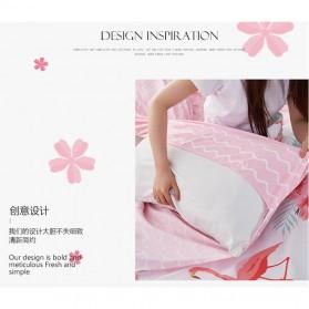 Sprei Selimut Kasur Travel Quilt Sheet Cover 180x215cm - 200TC - Green - 2