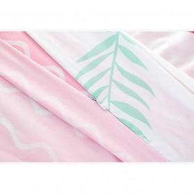 Sprei Selimut Kasur Travel Quilt Sheet Cover 180x215cm - 200TC - Green - 5