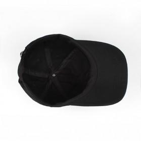 Astroworld Topi Baseball Cap Emboss - Black - 3