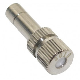 Water Mist Sprinkler Drip Irigasi Penyiram Air Taman Nozzle Stainless Steel 4mm 1 PCS - JM009 - Silver - 1