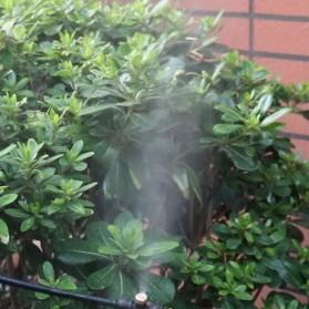 Water Mist Sprinkler Drip Irigasi Penyiram Air Taman Nozzle Stainless Steel 4mm 1 PCS - JM009 - Silver - 6